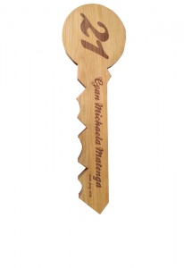 Engraved Timber Key
