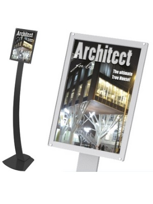 A4 acrylic sign holder